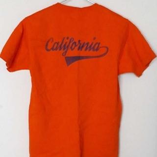 ツインズアコースティック(Twins Acoustic)のスマートスパイス オレンジTシャツ Sサイズ アコースティック好きにも(Tシャツ/カットソー(半袖/袖なし))