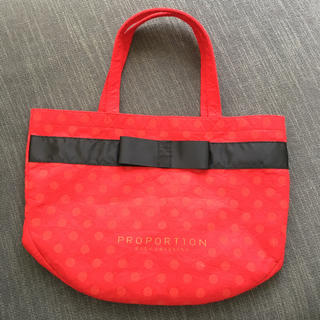 プロポーションボディドレッシング(PROPORTION BODY DRESSING)のプロポーションボディドレッシング ショップバッグ(ショップ袋)