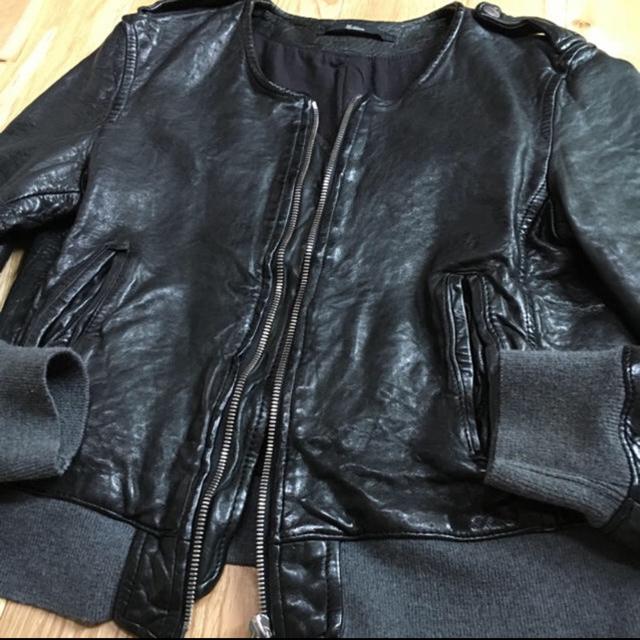 Edition(エディション)のEdition ライダース レザージャケット  レディースのジャケット/アウター(ライダースジャケット)の商品写真