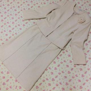 ローラアシュレイ(LAURA ASHLEY)のローラ アシュレイ スカートスーツ 11 W74 入学入園 ラメ (スーツ)