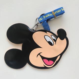 ディズニー(Disney)の新品未使用 JAL マジカルファンタジーツアー ミッキーマウス パスケース(その他)