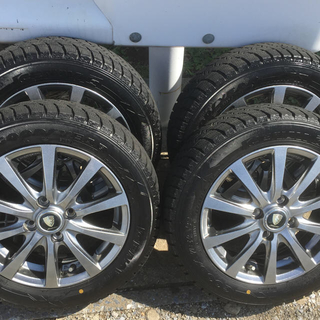 グッドイヤー(Goodyear)のスタッドレスタイヤ ホイールセット 155/65R14 (タイヤ・ホイールセット)
