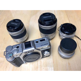 PENTAX - PENTAX Q10 デジタルミラーレス一眼 +レンズ4本専用+バッグ(非売品)