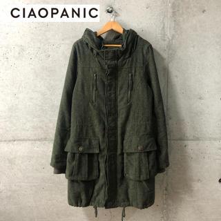 チャオパニック(Ciaopanic)の【CIAOPANIC】ネップ加工 モッズコート L(モッズコート)