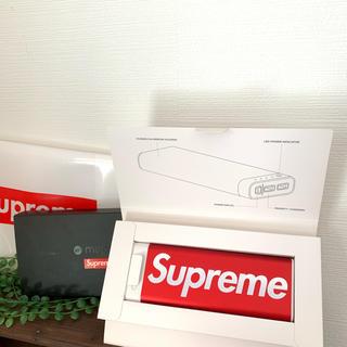 Supreme - Supreme モバイルバッテリー 20k 新品未使用 納品書・ノベルティー付き