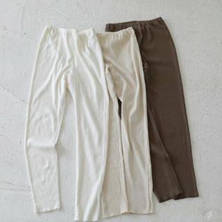 トゥデイフル(TODAYFUL)のtodayful Linen Rib Leggings リブ レギンス(レギンス/スパッツ)