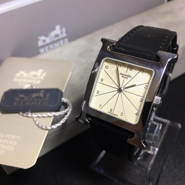 Hermes - 【確実正規品】エルメス 腕時計 Hウォッチ メンズ レディース ユニセックス の通販 by 即購入okです^_^|エルメスならラクマ