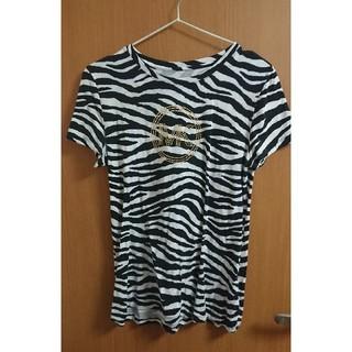 マイケルコース(Michael Kors)のMICHAEL KORS ゼブラ柄Tシャツ(Tシャツ(半袖/袖なし))