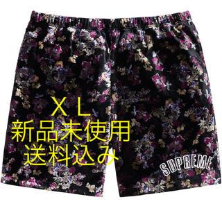 シュプリーム(Supreme)のsupreme floral Velour Short 新品未使用 XL(ショートパンツ)
