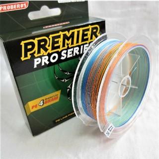 新品 PEライン 6lb 100m マルチカラー 強力 4編   日本製原料(釣り糸/ライン)