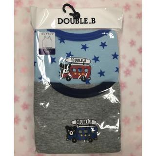 ダブルビー(DOUBLE.B)のミキハウスダブルビータンクトップ120サイズ(Tシャツ/カットソー)
