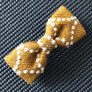ミナペルホネン(mina perhonen)のミナペルホネン リボンヘアクリップ ハンドメイド  mina perhonen(その他)
