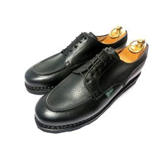 パラブーツ(Paraboot)の♀♂【新品◆定価6.8万】パラブーツ シャンボード 黒 シャマード(ローファー/革靴)