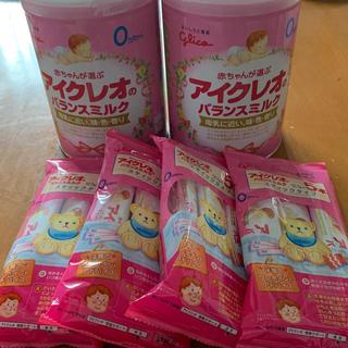 グリコ(グリコ)のアイクレオ ミルク缶(その他)