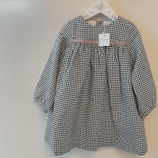 ボンポワン(Bonpoint)の【ma*様ご専用】ボンポワン 19AW ドレス FELICIE 2a(ワンピース)