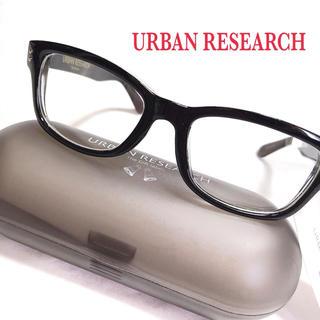 アーバンリサーチ(URBAN RESEARCH)のアーバンリサーチ 伊達メガネ 新品タグ付き 黒縁メガネ (サングラス/メガネ)