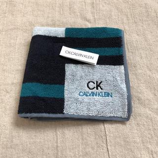 カルバンクライン(Calvin Klein)のカルバンクライン ハンドタオル(ハンカチ/ポケットチーフ)