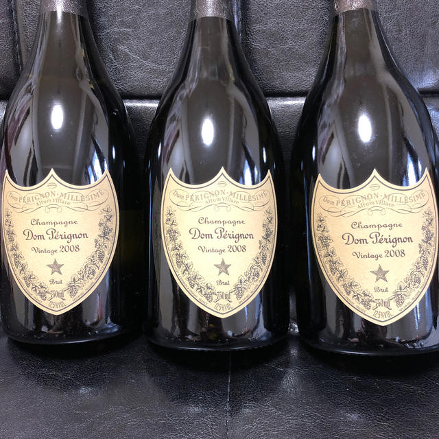 Dom Pérignon(ドンペリニヨン)のDom Perignon Vintage ドンペリ 白 3本セット  食品/飲料/酒の酒(シャンパン/スパークリングワイン)の商品写真