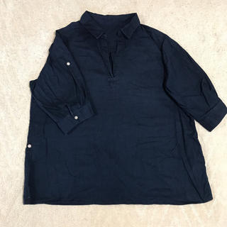 イオン(AEON)のレディースシャツ 大きいサイズ(シャツ/ブラウス(長袖/七分))