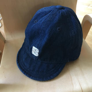 ブリーズ(BREEZE)のBreeze ベビー デニム 帽子 キャップ(帽子)