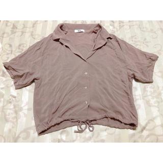 ウィゴー(WEGO)のWEGO ピンク 半袖シャツ(シャツ/ブラウス(半袖/袖なし))