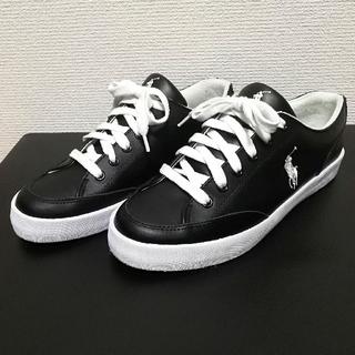 ポロラルフローレン(POLO RALPH LAUREN)のポロラルフローレン スニーカー シューズ 靴 美品(スニーカー)