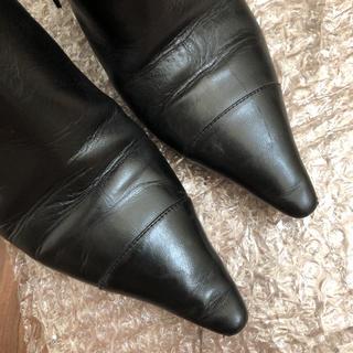 シャネル(CHANEL)のシャネル ショートブーツ 追加写真確認用(ブーツ)