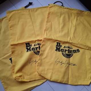 ヨウジヤマモト(Yohji Yamamoto)のYOHJI YAMAMOTO Martens  シューズバッグ 巾着 靴袋(トートバッグ)