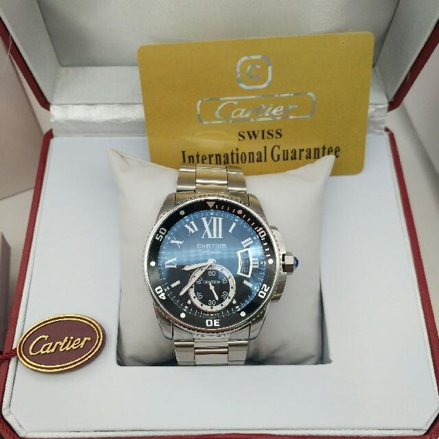 Cartier - 【カルティエ】カリブル ドゥ カルティエ ダイバー W7100057 自動巻 の通販 by リカ's shop|カルティエならラクマ
