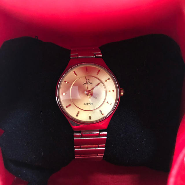 OMEGA - オメガ デビル  腕時計の通販 by ニャンでも屋|オメガならラクマ