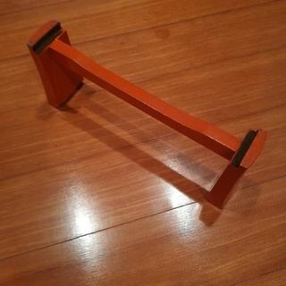 お琴13弦の琴台(朱色)(その他)