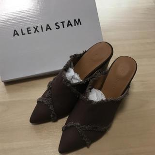 アリシアスタン(ALEXIA STAM)のalexiastam    ブラウンサンダル(サンダル)