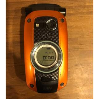 カシオ(CASIO)のCASIO Gz One W42CA ガラケー(携帯電話本体)