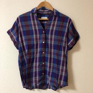 レプシィム(LEPSIM)のチェックシャツ 半袖シャツ レプシム LEPSIM(シャツ/ブラウス(半袖/袖なし))