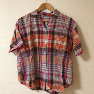 レプシィム(LEPSIM)の半袖シャツ チェックシャツ レプシム LEPSIM(シャツ/ブラウス(半袖/袖なし))