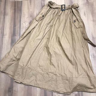 レイカズン(RayCassin)の美品♡レイカズン★ロングスカート★ベルト付き(ロングスカート)