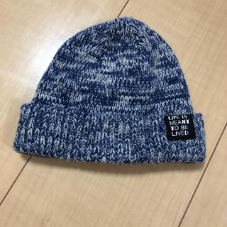 ブリーズ(BREEZE)のベビー ニット帽 (帽子)