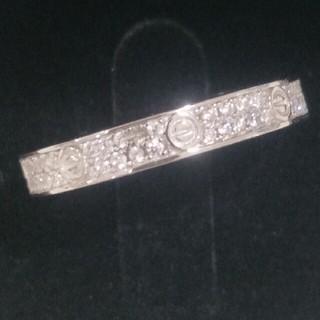 カルティエ(Cartier)の超人気Cartierカルティエ リング ギラギラ レディース 正規品(リング(指輪))