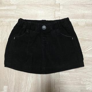 ブリーズ(BREEZE)のコーディロイ スカート ブラック 90(スカート)
