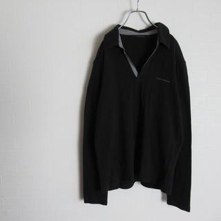 カルバンクライン(Calvin Klein)のCalvin Klein jeans カルバンクライン スキッパー ポロシャツ(ポロシャツ)