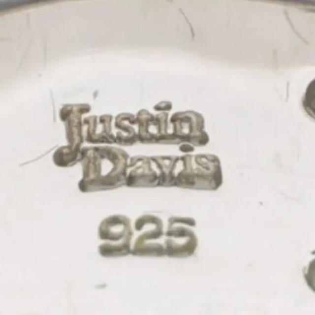 Justin Davis(ジャスティンデイビス)の正規オーダー品Justin Davis パヴェリング美品 レディースのアクセサリー(リング(指輪))の商品写真