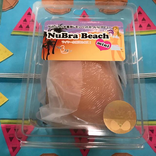 三愛水着楽園(サンアイミズギラクエン)のヌーブラ ビーチ レディースの下着/アンダーウェア(ヌーブラ)の商品写真
