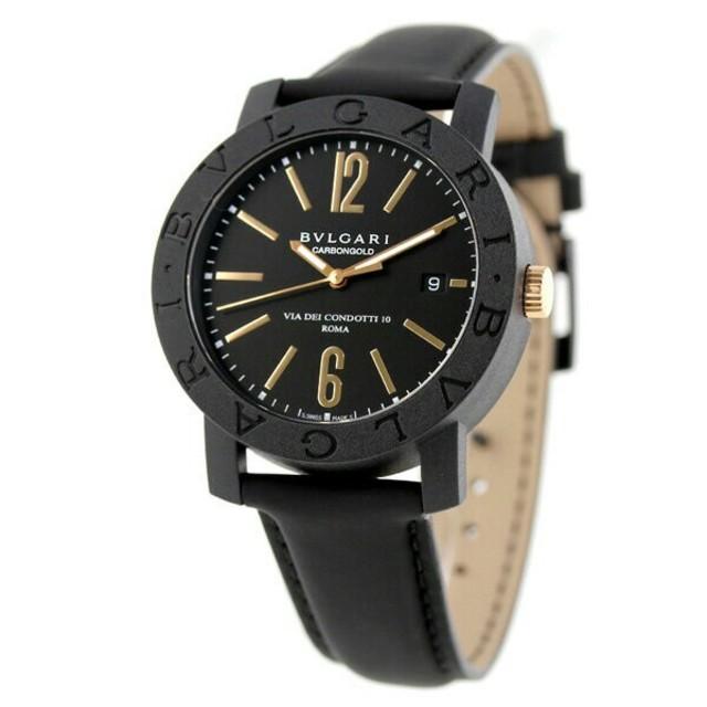 BVLGARI - ブルガリ 時計 BVLGARI ブルガリカーボンゴールド 40mmの通販 by タニ ユウジ's shop|ブルガリならラクマ