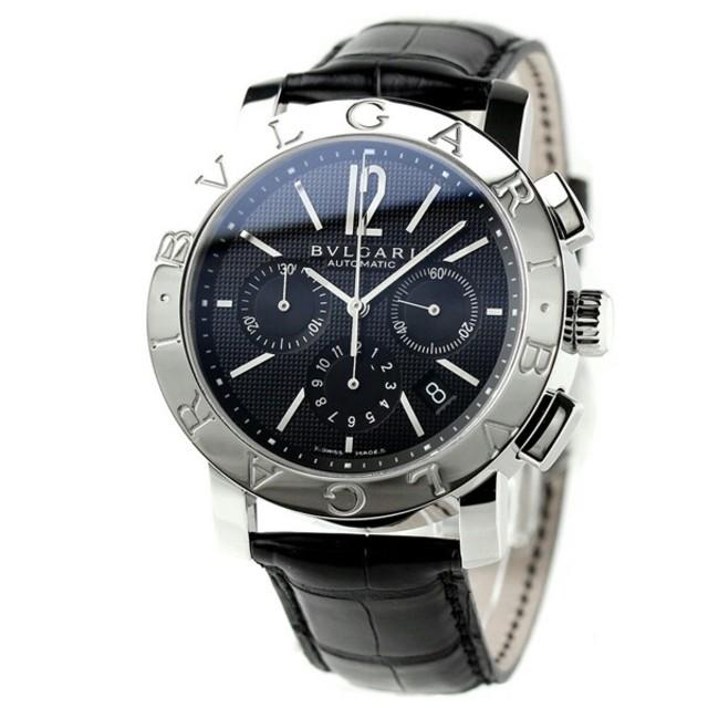 BVLGARI - ブルガリ 時計 メンズ BVLGARI ブルガリ42mm の通販 by タニ ユウジ's shop|ブルガリならラクマ