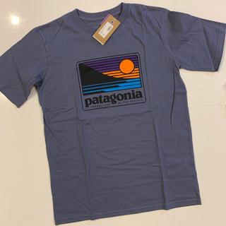 パタゴニア(patagonia)のPatagonia パタゴニア ロゴTシャツ Mサイズ 新品タグ付き送料込(Tシャツ/カットソー)