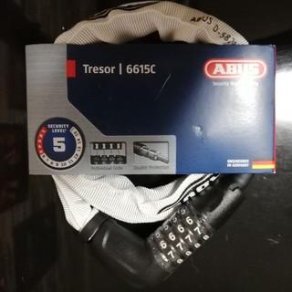アバス(ABUS)のABUS Tresor 6615c 120cm ワイヤーロック(セキュリティ)
