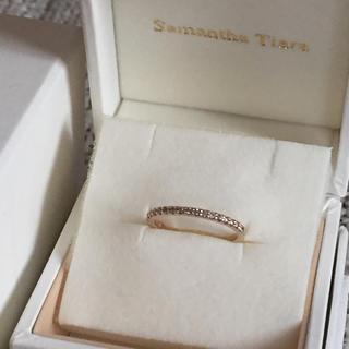 サマンサティアラ(Samantha Tiara)のサマンサティアラ k18 エタニティ ピンキーリング(リング(指輪))