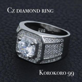 Czダイヤモンド メンズ リング 【22号】(リング(指輪))