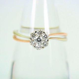 マハラジャ ダイヤモンド 750  リング 13.5号 [f51-2](リング(指輪))