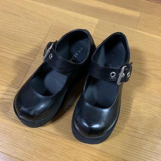 ウィゴー(WEGO)のwego 厚底 ブーツ 革靴 (ローファー/革靴)